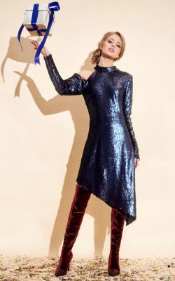 Ассиметричное платье фото 2