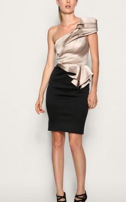 Ассиметричное платье фото 3