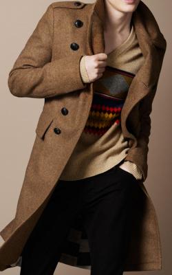 Мужское пальто Бербери фото 1