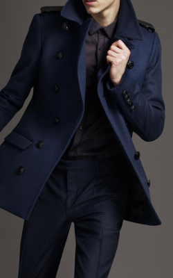 Мужское пальто Бербери фото 2