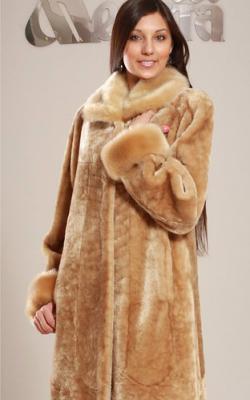пальто, шуба цигейка фото 1