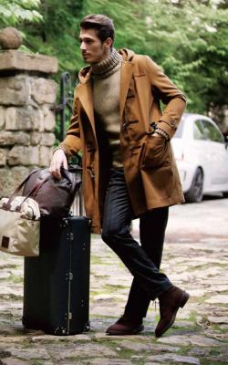 Мужское пальто дафлкот фото 2