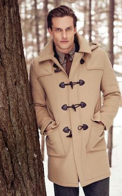 Мужское пальто дафлкот фото 3