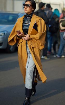 Демисезонное пальто фото 14