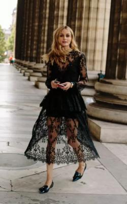 Длинное платье с кружевом 24