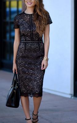 Длинное платье с кружевом 16