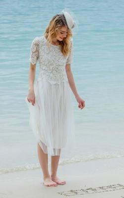 Длинное платье с кружевом 13