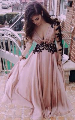 Длинное платье с кружевом 4