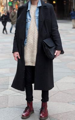 Двубортное мужское пальто фото 3