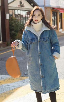 джинсовое пальто Али экспресс фото 3