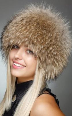 шапка из енота 1