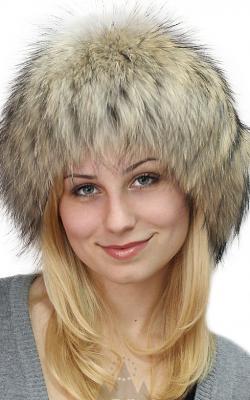 шапка из енота 2