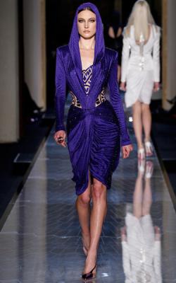 Фиолетовое платье фото 4