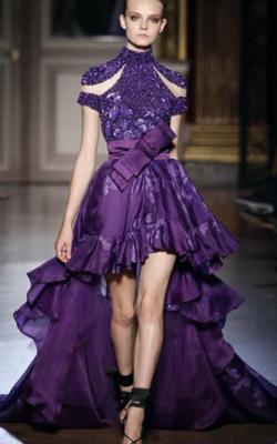 Фиолетовое платье фото 221