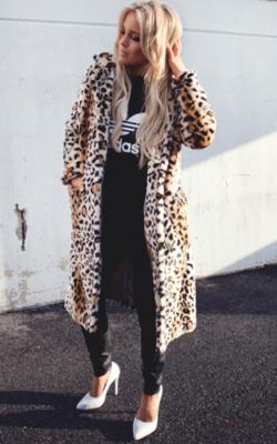 Фото леопардовых шуб - 2