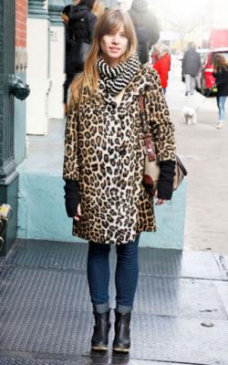 Фото леопардовых шуб - 3