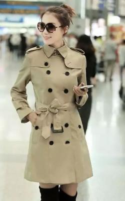 как красиво завязать пальто5