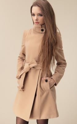 как красиво завязать пальто2