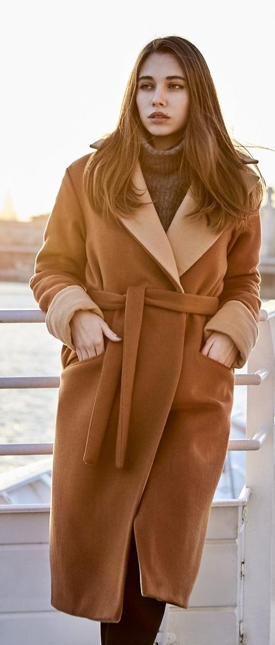 Кашемировое пальто фото 2