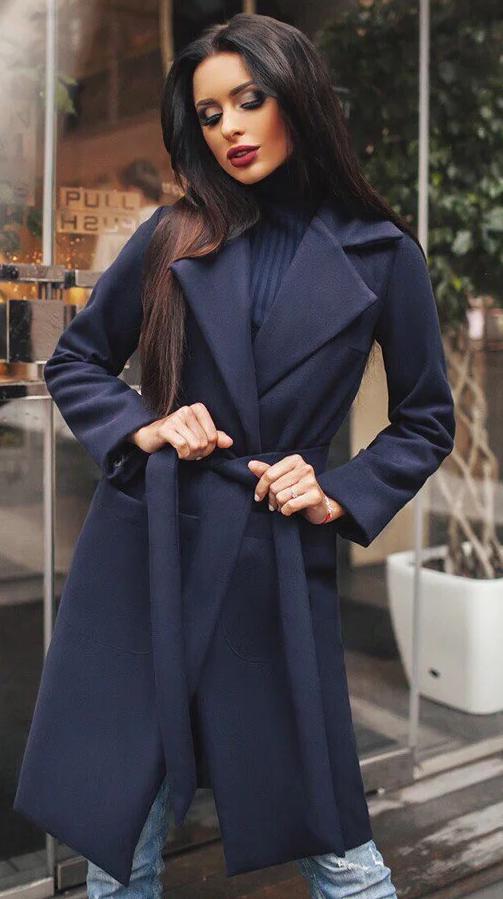 Кашемировое пальто фото 4