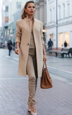 Кашемировое пальто фото 11