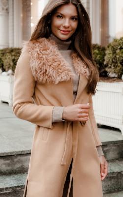 Кашемировое пальто фото 12