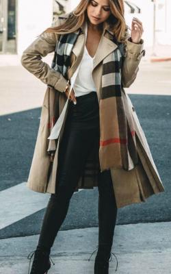 классическое пальто с чем носить фото1
