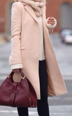 классическое пальто с чем носить фото2