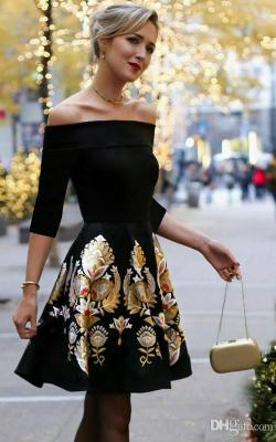 Коктейльное платье 2018 фото 3