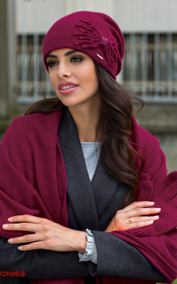 комплект шапка шарф перчатки женские фото 2