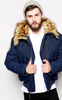 Короткая мужская куртка зима фото 1
