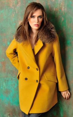 Кашемировое пальто укороченное фото 3