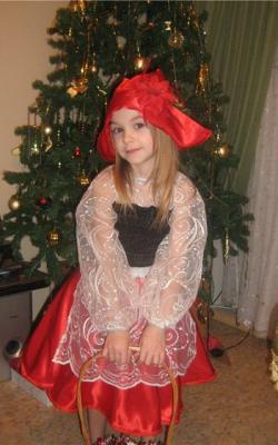 Новогодний костюм Красной шапочки фото 2