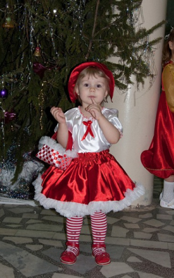 Новогодний костюм Красной шапочки фото 3