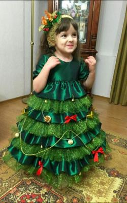 Новогодний костюм елочки фото 1