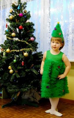 Новогодний костюм елочки фото 2