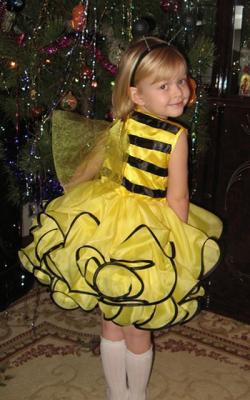 Костюм пчелки для девочки фото 1