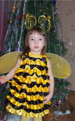 Костюм пчелки для девочки фото 2