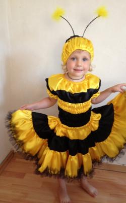 Костюм пчелки для девочки фото 3