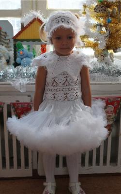 Новогодний костюм снежинки фото 3