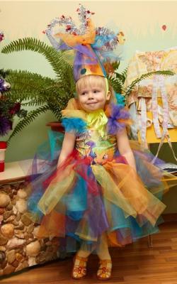 Новогодний костюм хлопушки для девочки фото 1