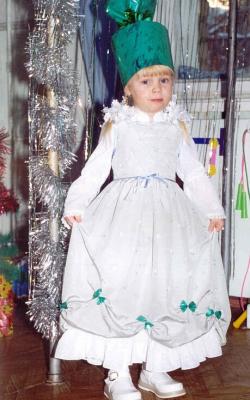 Новогодний костюм хлопушки для девочки фото 3