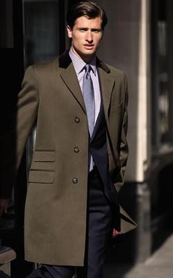 Мужское пальто коверт фото 1