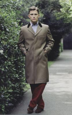Мужское пальто коверт фото 2