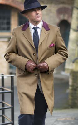 Мужское пальто коверт фото 3