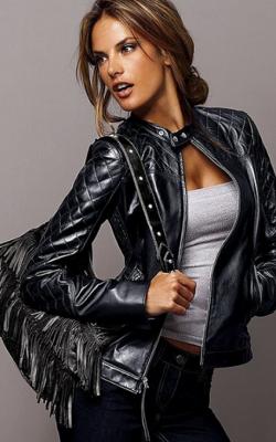 Женские кожаные куртик 2018-2019 фото 7