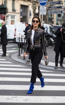 Женские кожаные куртик 2018-2019 фото 8