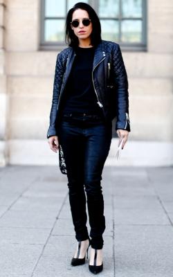 Женские кожаные куртик 2018-2019 фото 16
