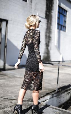 Кружевное платье фото 13
