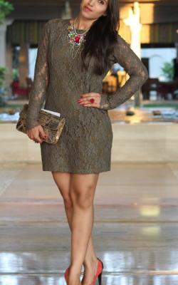 Кружевное платье фото 16